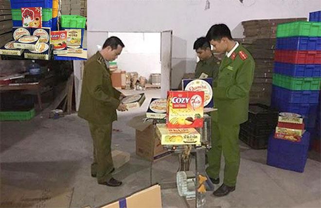 Hà Nội: Bắt quả tang cơ sở sản xuất bánh kẹo nhái các thương hiệu nổi tiếng