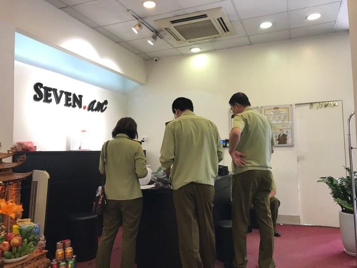 Hà Nội: Tổng kiểm tra 5 điểm kinh doanh Seven.Am trên địa bàn thành phố.