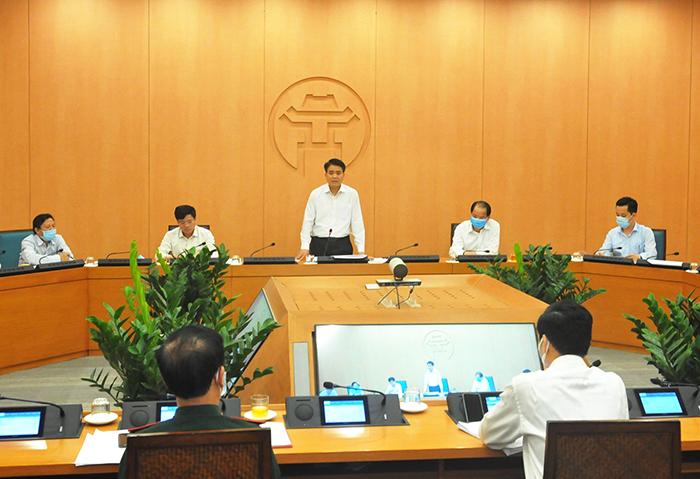 Công điện khẩn số 02 của Chủ tịch UBND Thành phố trước diễn biến phức tạp ổ dịch Covid-19 tại Bệnh viện Bạch Mai