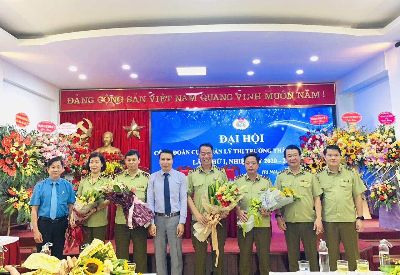 QLTT Hà Nội: Tổ chức Đại hội Công đoàn Cục Quản lý thị trường TP Hà Nội lần thứ I, nhiệm kỳ 2020 – 2023.