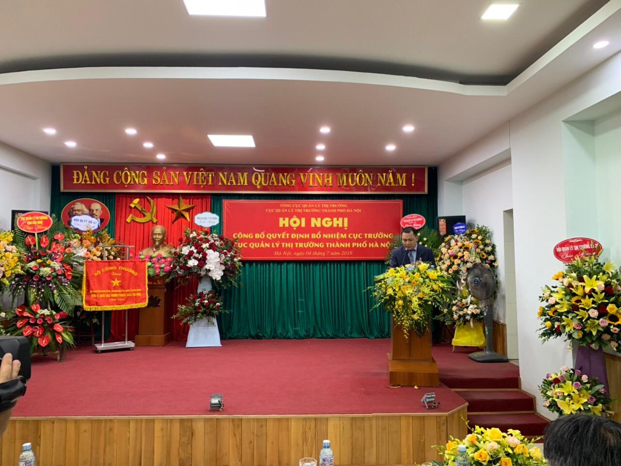 Hà Nội: Tổ chức Hội nghị công bố Quyết định bổ nhiệm Cục trưởng Cục Quản lý thị trường thành phố Hà Nội